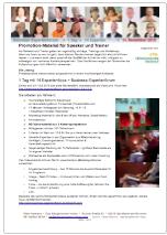 Konzept des Business-Expertenforums zum Herunterladen